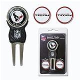 Team Golf NFL Houston Texans Divot Tool with 3 Golf