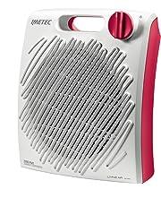 IMETEC Living Air Calefactor 2200 W, 55.6 Decibeles, Blanco y Amaranto