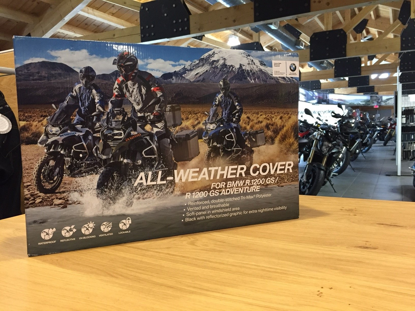 Bmw All-Weather Cover for R1200GS/GS Adventure by BMW