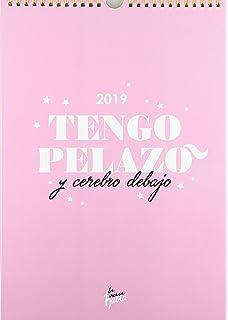 Calendario pared Moderna de Pueblo 2019. La vaga durmiente ...