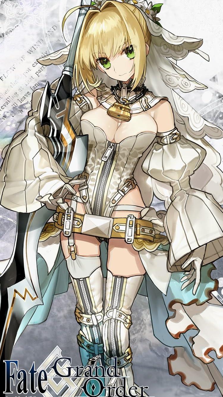 Fate Iphone Se 8 7 6s 750 1334 壁紙 ネロ クラウディウス アニメ スマホ用画像