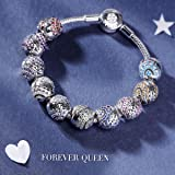FOREVER QUEEN February Birthstone Charms for