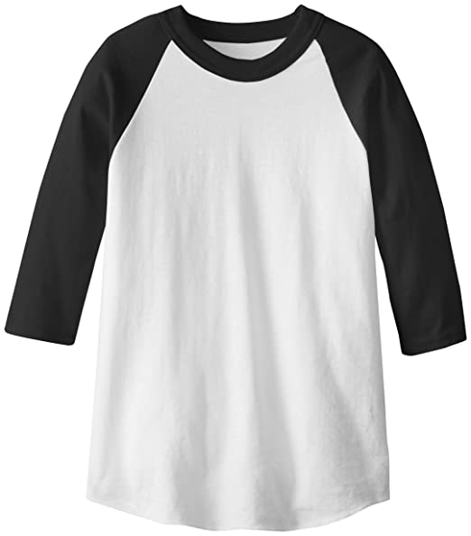 official photos 0444a 39efa Soffe MJ Kid's 3/4 Sleeve Baseball Jersey