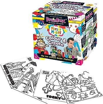 Brain Box - Colour and Create, Juego de Mesa en inglés (90024 ...
