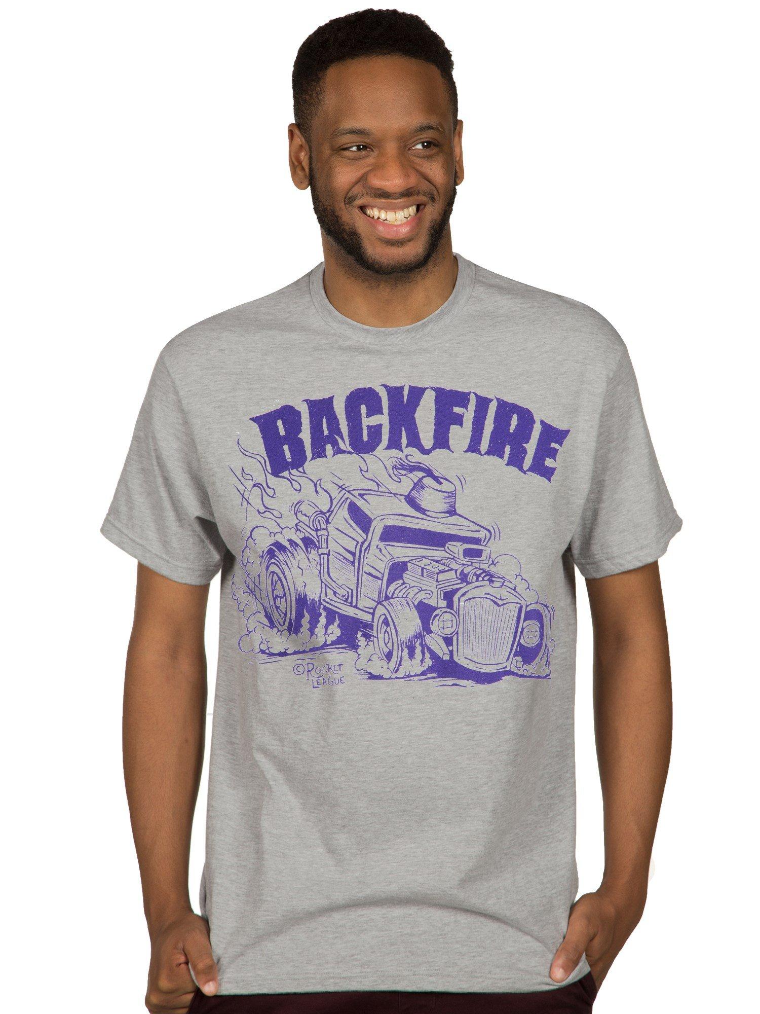 Jinx Rocket League Backfire Premium T Shirt 5516