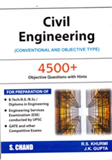 Buy Civil Engineering: Conventional and Objective Type (2018