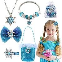 vamei Collar Pulseras de Nieve Joyas para niñas