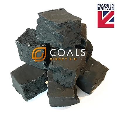 10x Large carré découpé charbons