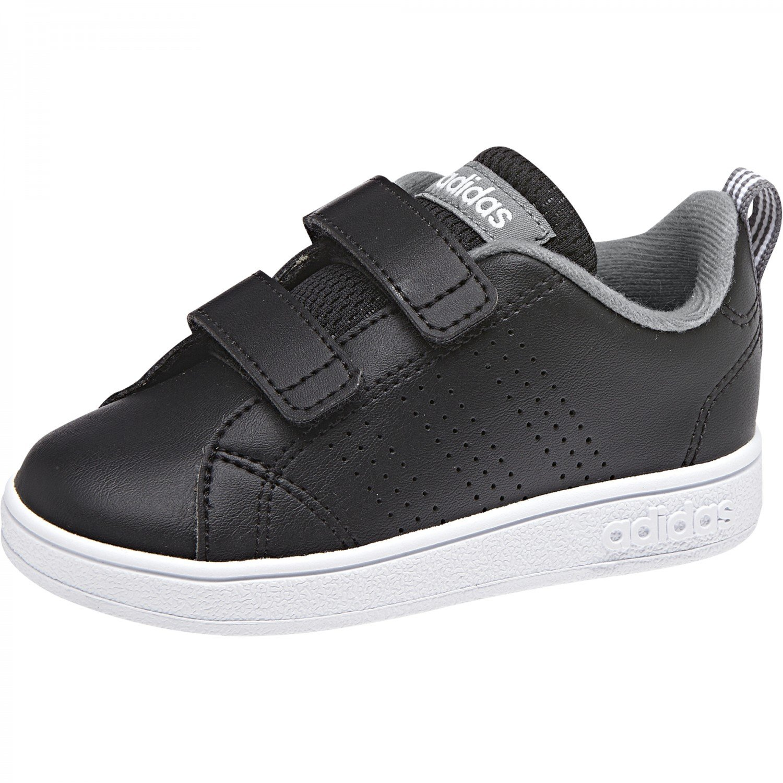 adidas Vs ADV Cl Cmf Inf, Scarpe da Fitness Unisex-Bambini, Nero (Negbás/Negbás/Gritre 000), 23 EU