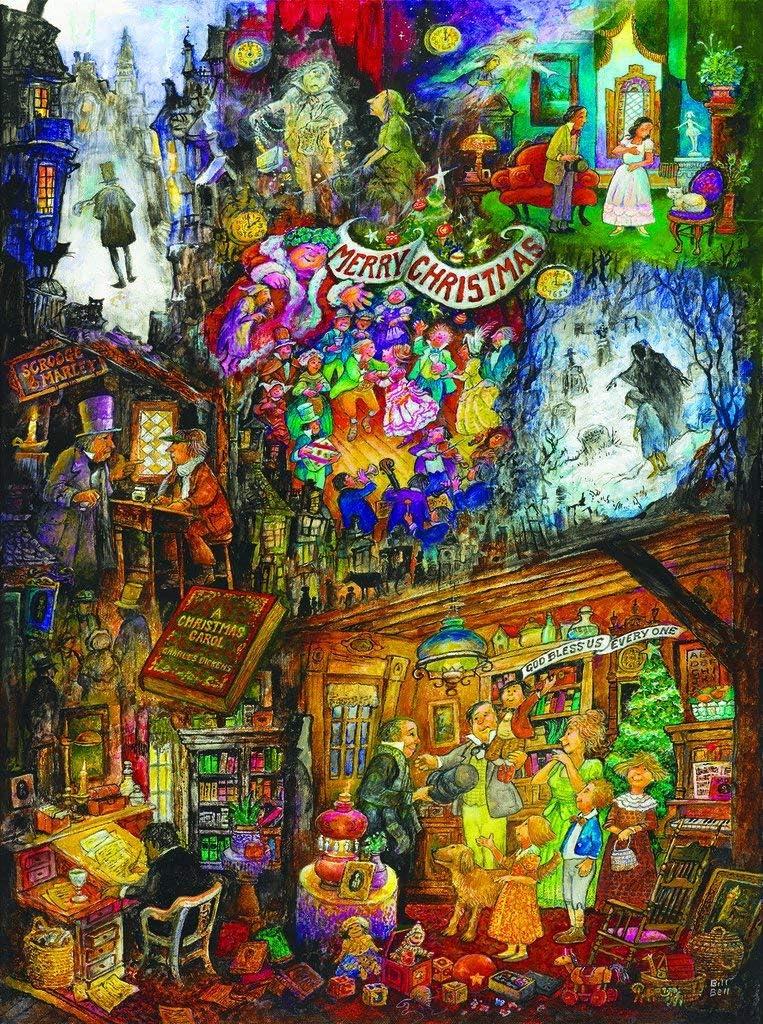 A Christmas Carol 1000 pc Jigsaw Puzzle -Christmas Theme- by SunsOut