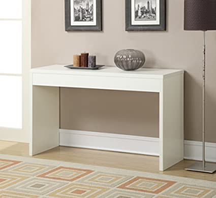 Charmant Convenience Concepts Northfield Hall Console Table, White