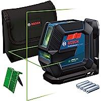 Bosch Professional 0601063W00 Lijnlaser GLL 2-15 G (groene laser, binnengebruik, houder LB 10, zichtbaar werkbereik: tot…