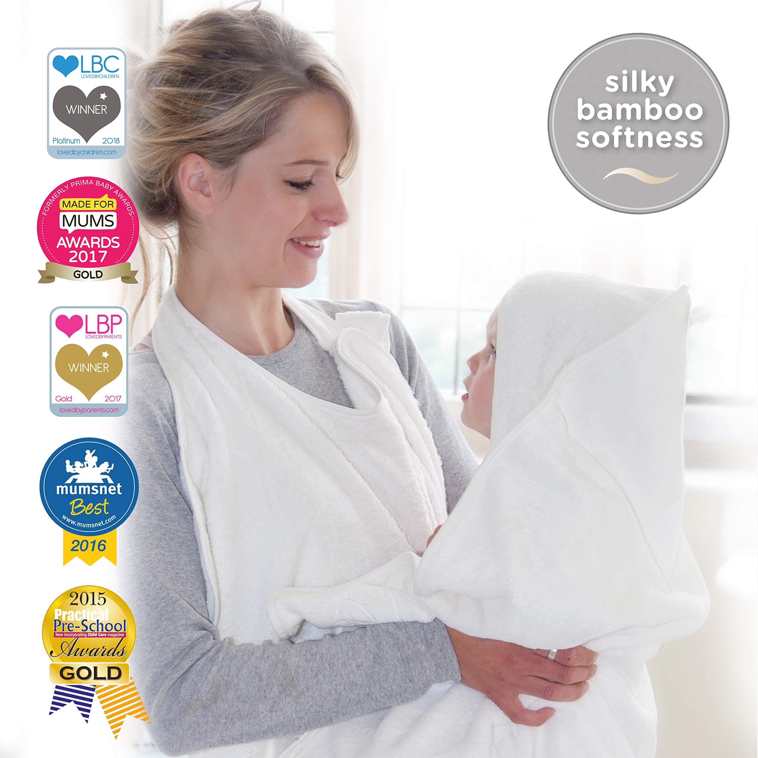 Cuddledry Apron - Toalla de baño, color blanco natural product image
