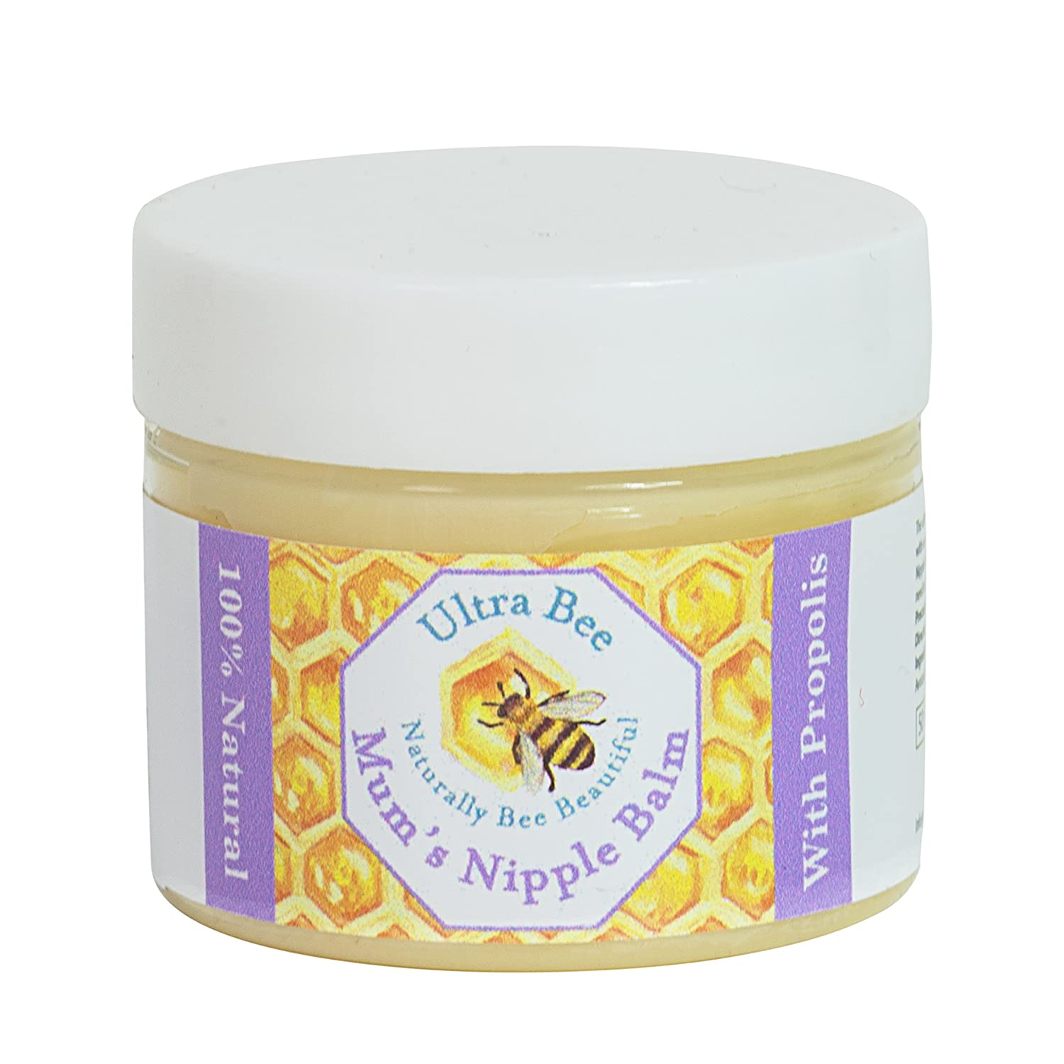 100% Natural Breastfeeding Nipple Balm for Mums 50ml Ultra Bee Health Ltd