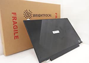"BRIGHTFOCAL New Screen for DELL Latitude E5550 5550 30 PIN 15.6"" HD EDP WXGA Slim LED Replacement Laptop LCD Screen Display"