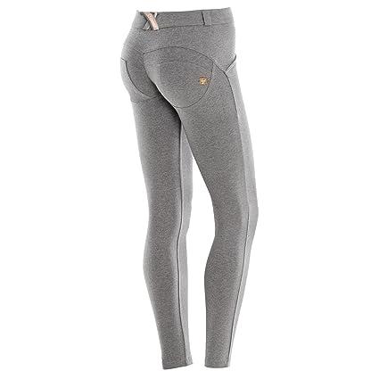 Freddy WR.UP Pantalones Skinny Mujer Pitillo De Talle Regular Melange Gris  XS: Amazon.es: Ropa y accesorios