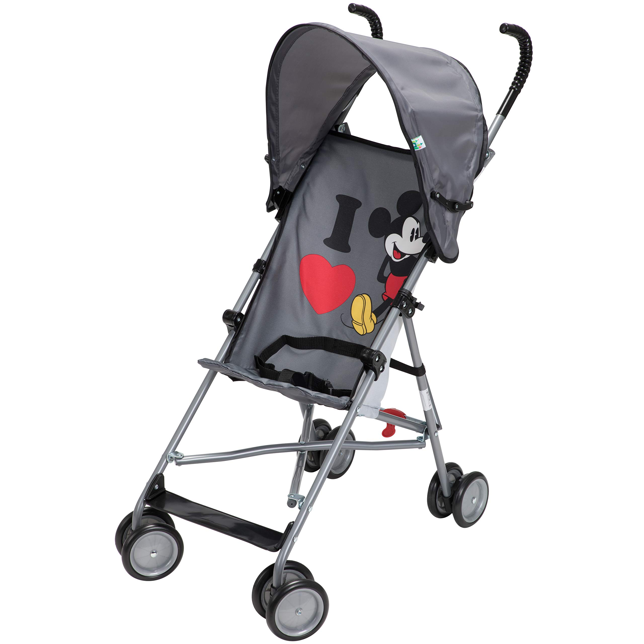 Disney Umbrella Stroller with Canopy, I Heart Mickey by Disney (Image #2)