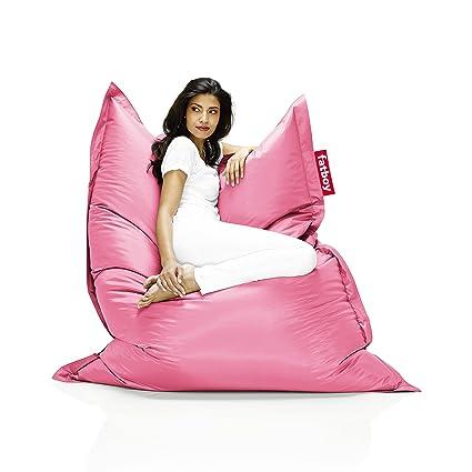 Amazon.com: Fatboy The Original Bean Bag Chair - Light Pink: Kitchen ...