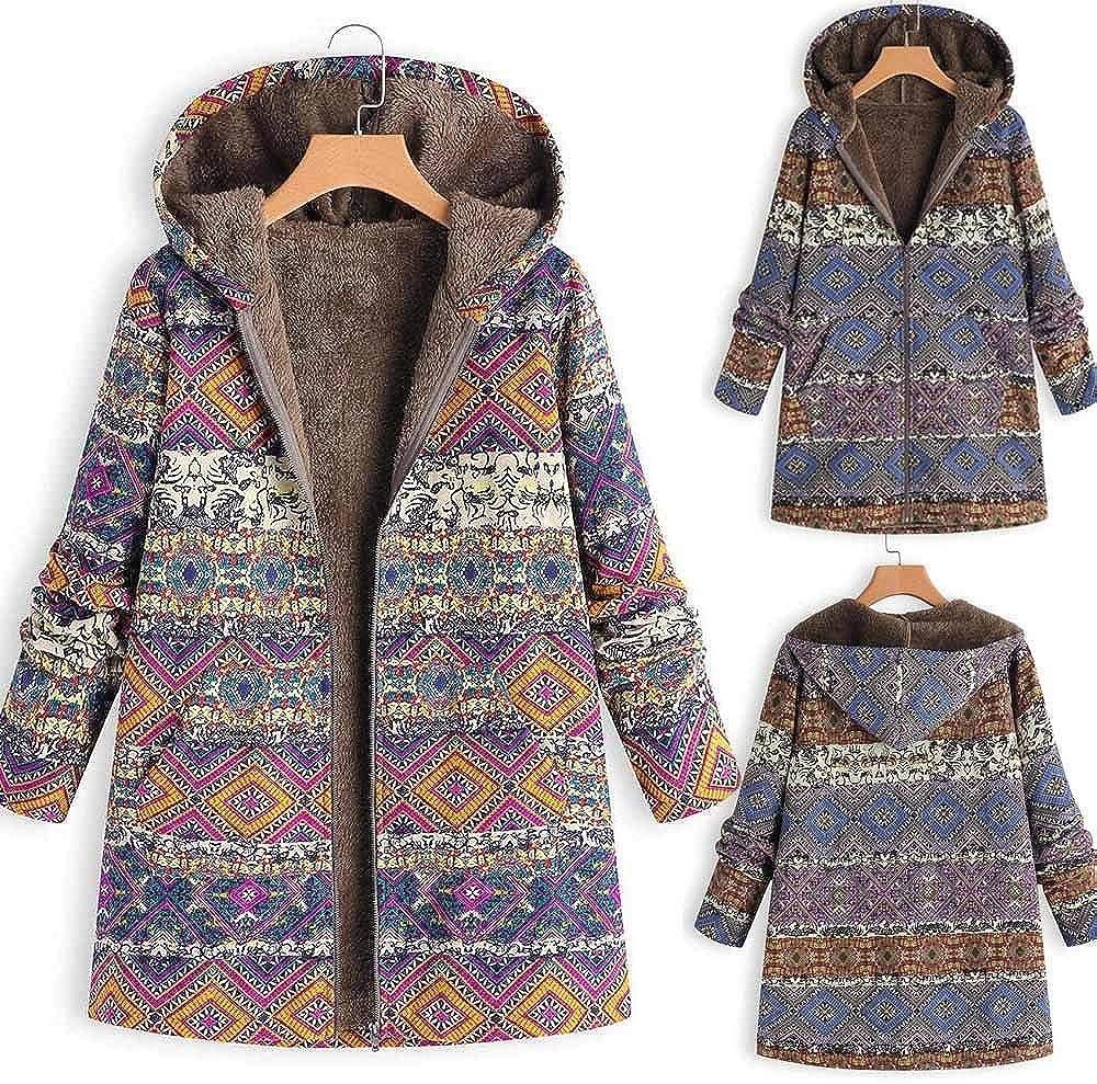 ZODOF Abrigo Invierno Mujer Chaqueta Suéter Jersey Mujer Cardigan ...