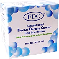 Flexible Denture Cleaner FDC ~ 3 Months Supply ~ Valplast & other Dental Appliances (1 Box (3 Months Supply)) by FDC