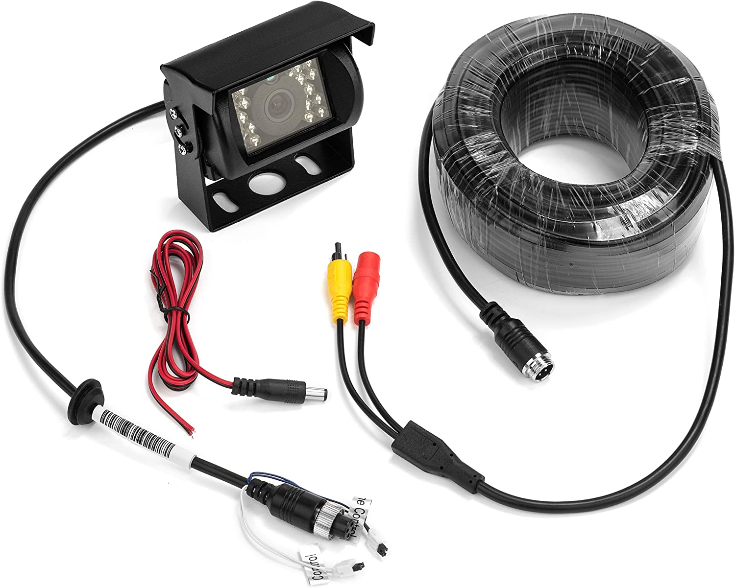 includes 65 ft. extension cable BOYO VTB301C Heavy-Duty Universal Mount Backup Camera with Night Vision