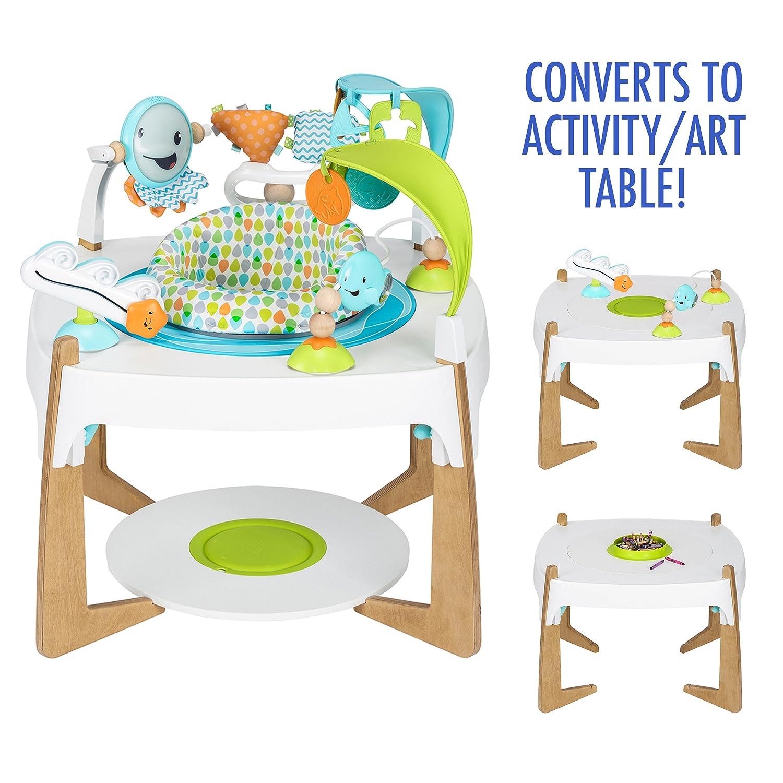 966c200e8 Amazon.com   Evenflo ExerSaucer 2-in-1 Activity Center + Art Table ...