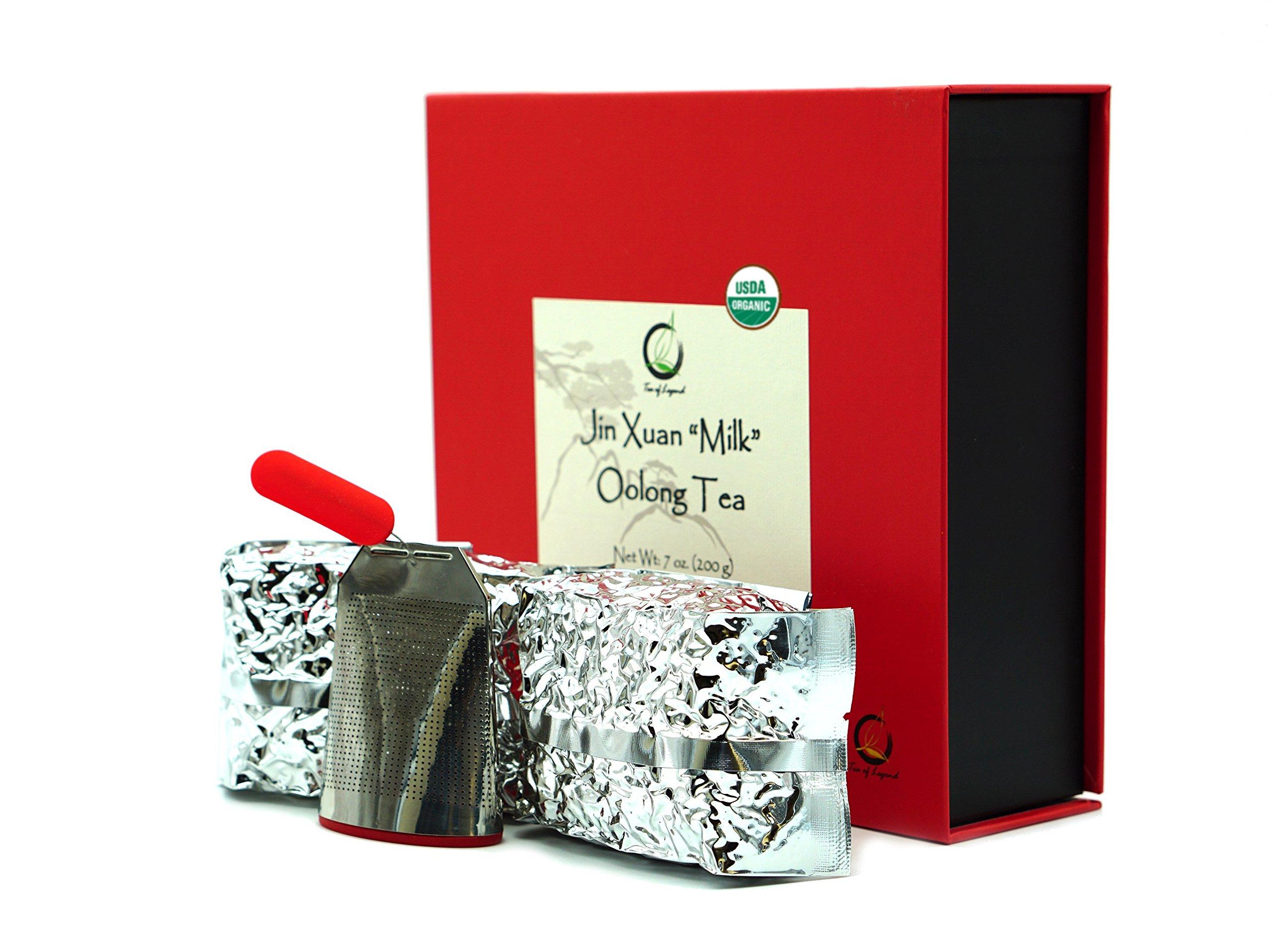 Premium Jin Xuan Milk Oolong Tea Gift Set