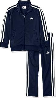 Adidas Baby Girls' Tricot Jacket and Pant Set 2