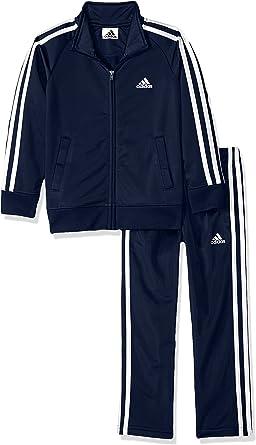 Amazon.com: adidas Boys' Tricot Jacket