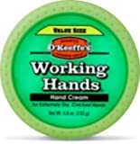 O'Keeffe's Working Hands Hand Cream Value Size, 6.8 oz Jar, Packaging May Vary