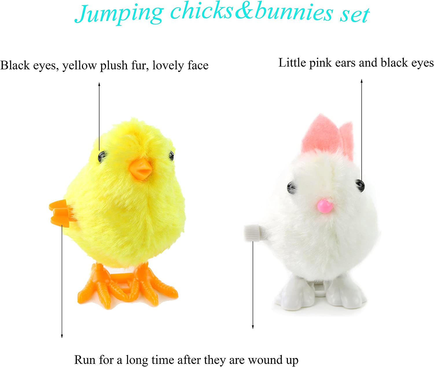 Fun Easter Toys - Easter Chick and Bunny