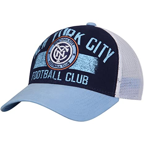 on sale 788d0 93c5b Image Unavailable. Image not available for. Color  New York City FC adidas  Trucker Adjustable Hat ...