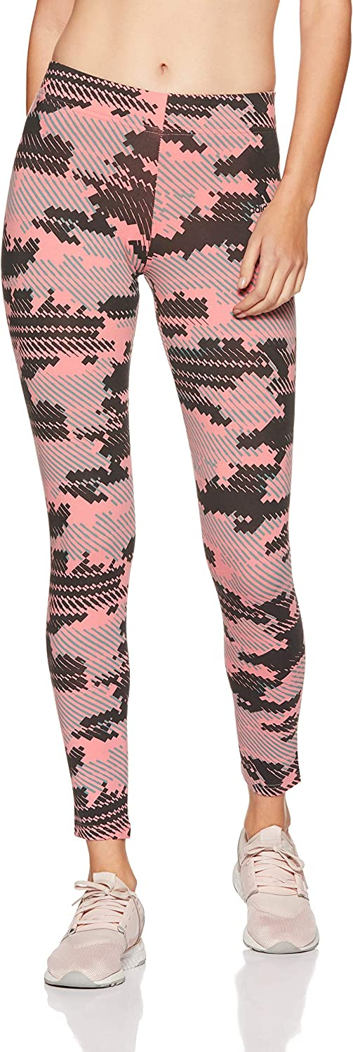 adidas Women Tights Running Athletics AOP Allover Print Training BP9268 New