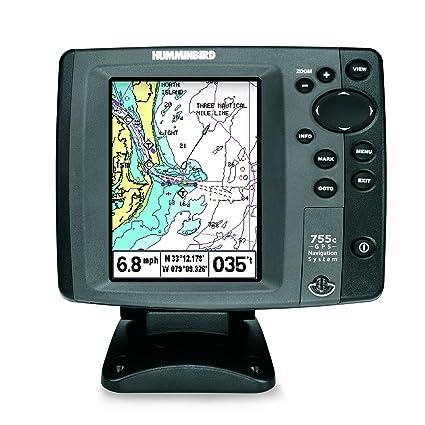 Humminbird 755c 5 Inch Waterproof Marine GPS And Chartplotter