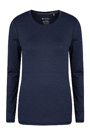 b8a5220d9a36b Mountain Warehouse Panna Womens Long Sleeved Top - UV Protected, Quick  Drying, Lightweight &