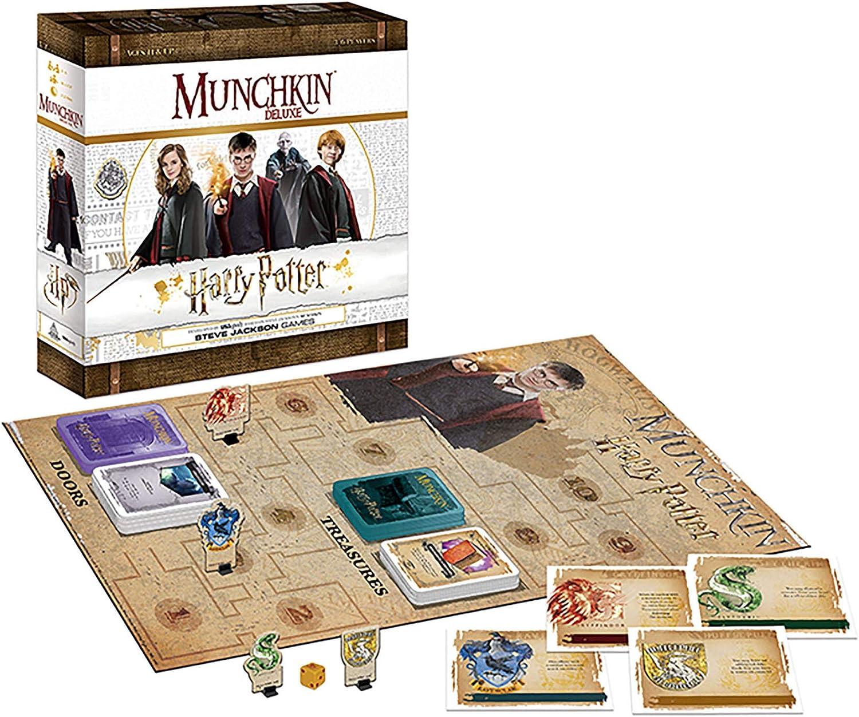 USAopoly Munchkin Deluxe Harry Potter Card Board Game Juego de Cartas - Ingles: Amazon.es: Juguetes y juegos