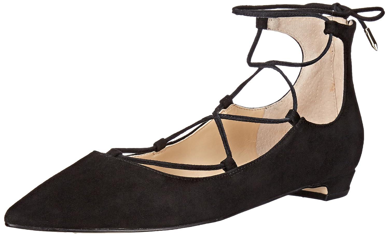 Ivanka Trump Women's Tropica Ballet Flat B016M84TZ0 9.5 B(M) US|Black