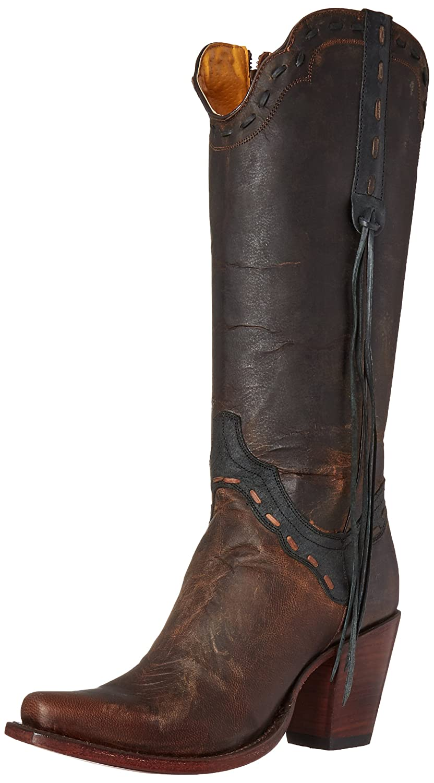 Johnny Ringo Women's Shirley Western Boot B01FWR33VS 6.5 B(M) US|Mad Dog Chocolate