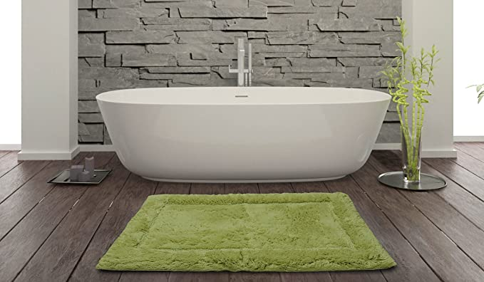 Spaces Hygro Cotton Bath Mat   16 quot;x24 quot;, Hay
