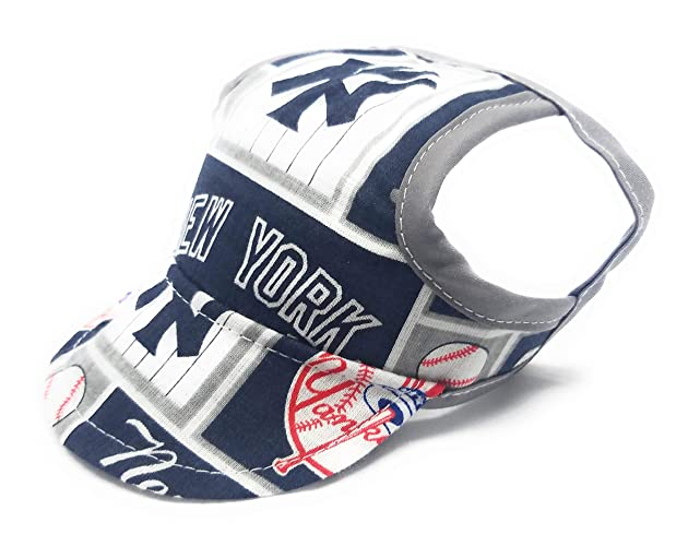 e8dc7bbde9f40 Amazon.com  Dog Hat - New York Yankees Sports Fabric  Handmade