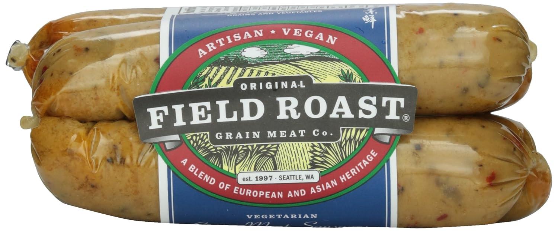 Field Roast, Vegetarian Grain Meat Sausages, Italian, 12.95 oz (Frozen)