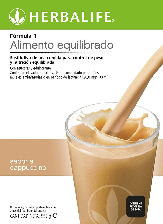 Batido Sustitutivo pérdida de peso F1 (Café Latte): Amazon.es ...