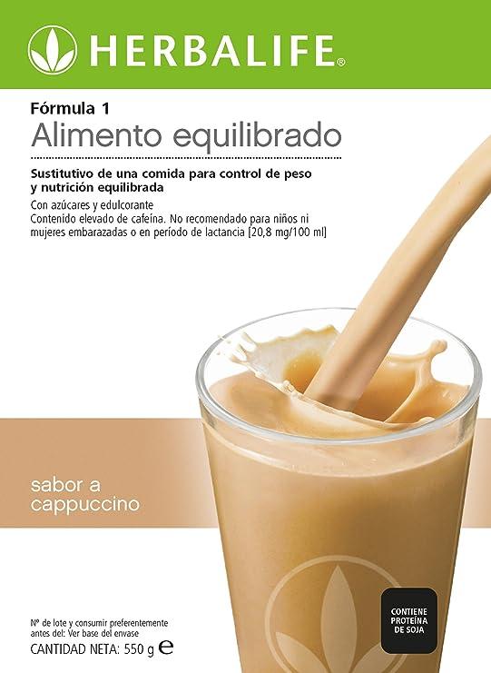 Herbalife Batido Formula 1 Chocolate Cremoso 550g (Elige Sabor ...