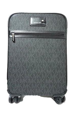 758103201 Amazon.com: Michael Kors Travel Trolley Carry On Suitcase Black MK  Signature: Clothing