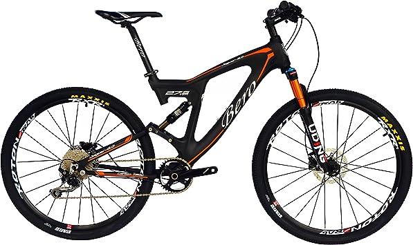 BEIOU Carbon Dual Suspension Mountain Bicycles Todo terreno 27.5 ...