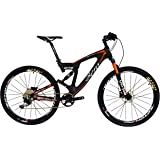 BEIOU Carbon Dual Suspension Mountain Bicycles All Terrain 27.5 Inch MTB 650B Bike SHIMANO DEORE 10 Speed 12.7kg T700 Frame Matte 3K CB22