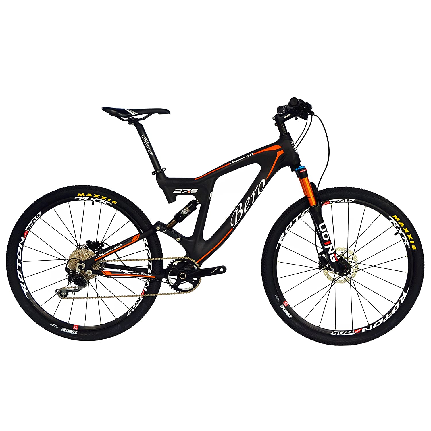 BEIOU Carbon Dual Suspension Mountain Bicycles All Terrain 27,5 Zoll ...
