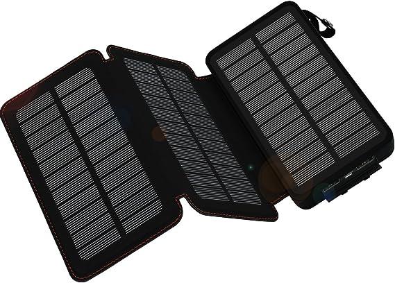 Amazon.com: WBPINE Cargador Solar 24000mAh, Banco de Energía ...
