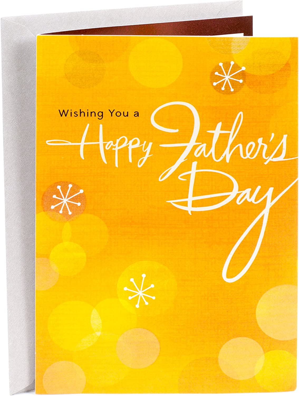 """Vintage /""""For Dad/"""" on Valentine/'s Day by Dayspring Single Greeting Card"""