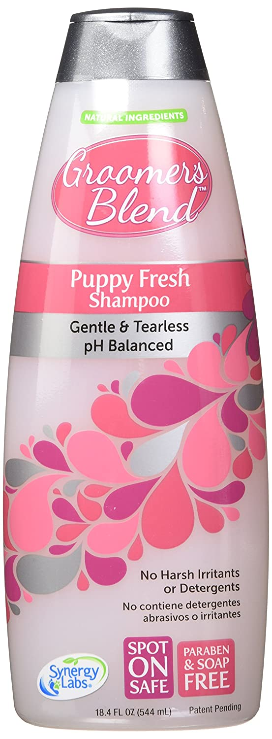 Amazon.com : Groomers Blend SynergyLabs Puppy Fresh Shampoo; 18.4 fl. ounces : Pet Shampoos : Pet Supplies